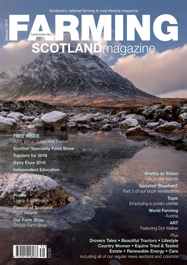 Farming Scotland Magazine February 2016 Cover