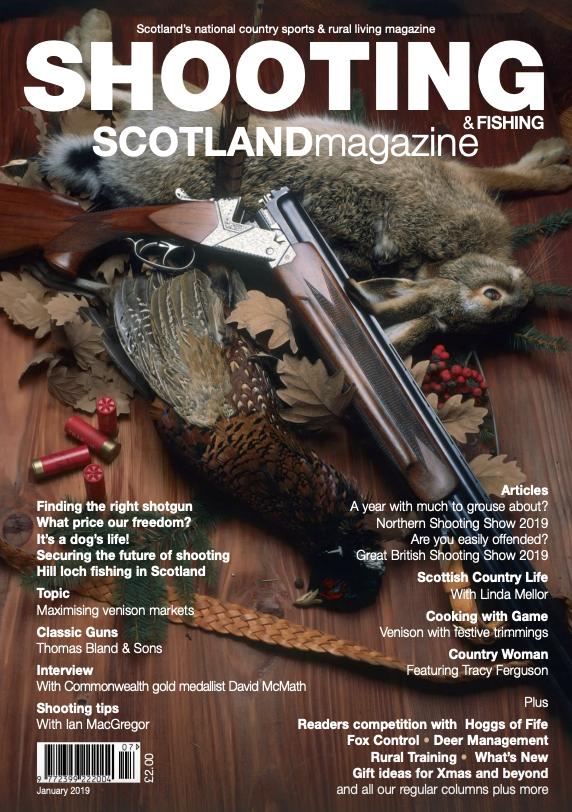 Shooting Scotland Magazine - January 2019
